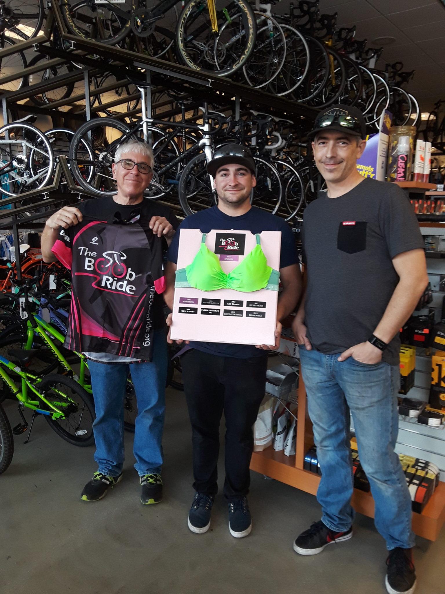 Irvine Bicycles Green Bra